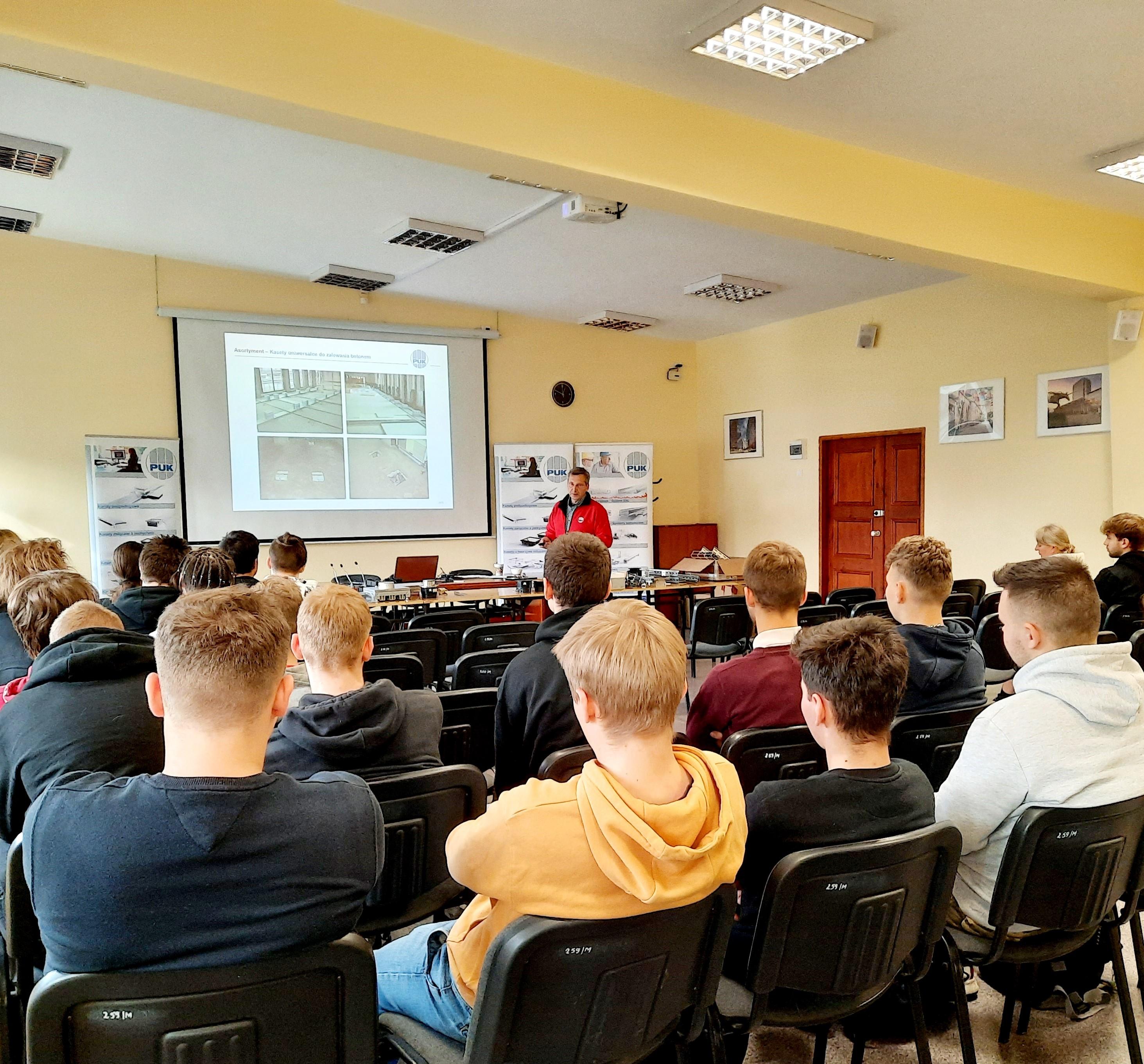 Szkolenie w Zespole Szkół Edukacji Technicznej w Łodzi