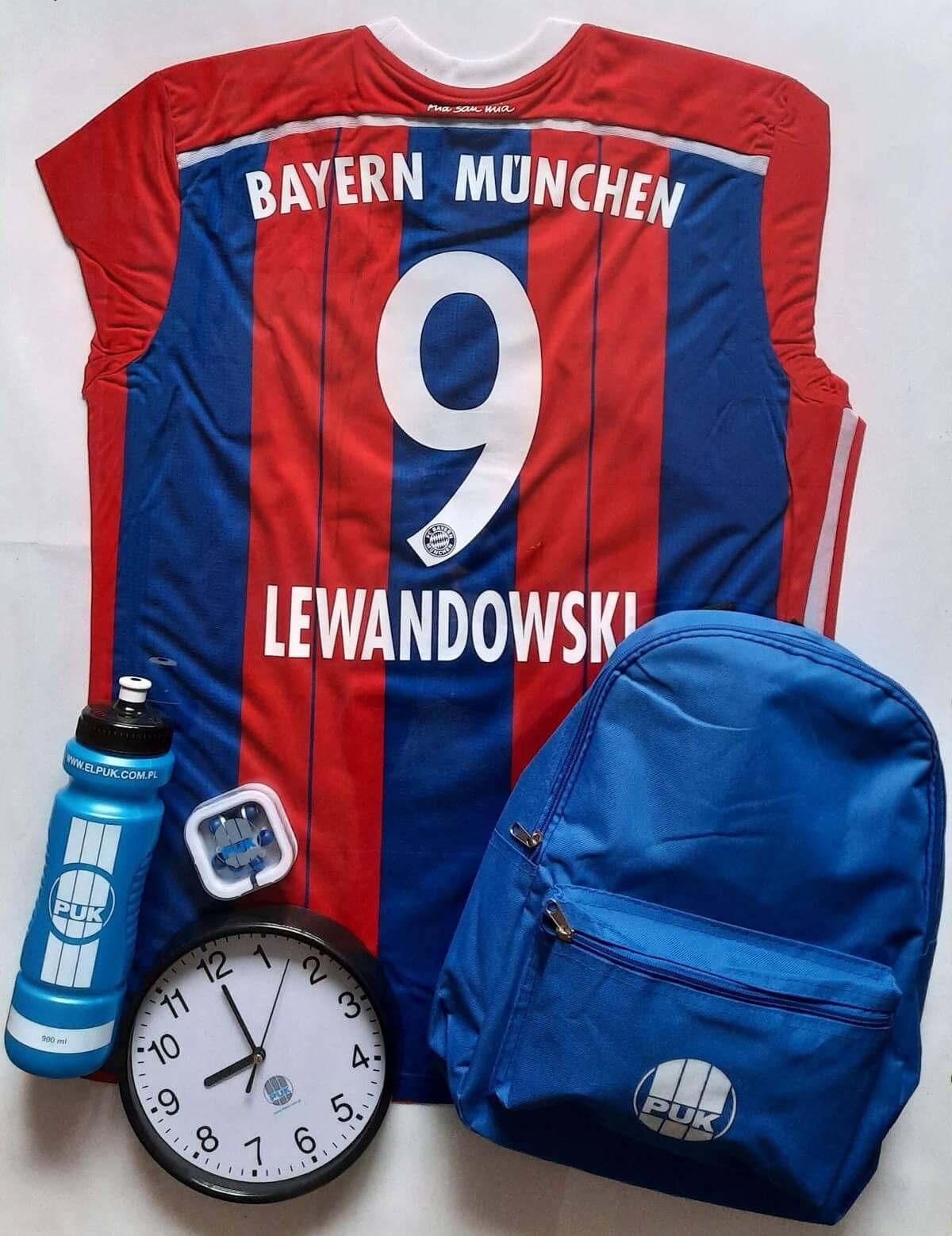 Koszulka z autografem Roberta Lewandowskiego od EL-PUK Sp. z o.o.