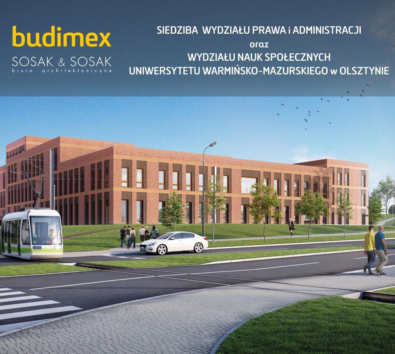 Powstają nowoczesne wydziały UWM w Olsztynie z naszymi trasami kablowymi